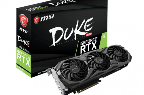 Видеокарта MSI GeForce RTX 2080 Ti Gaming X Trio требует подключения трёх разъёмов питания