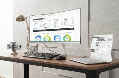 Samsung представила первый в мире монитор с изогнутым экраном QLED и поддержкой интерфейса Thunderbolt 3