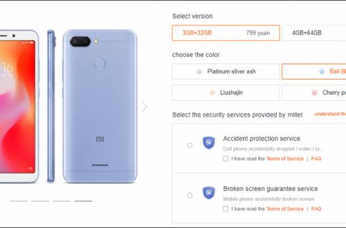 Смартфон Xiaomi Redmi 6 в версии 4/64 ГБ подешевел до $123, но только на один день
