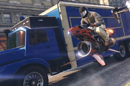 Завтра в GTA Online появится реактивный мотоцикл без колес и грузовик с квадрокоптерами для заданий