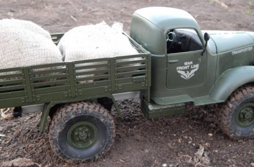 JJRC Q61 армейский грузовик