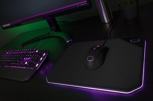 Коврик для мыши Cooler Master MP860 снабжен настраиваемой подсветкой RGB