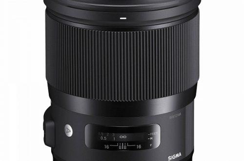 Оптическая схема объектива Sigma 28mm F1.4 DG HSM   Art начитывает 17 элементов