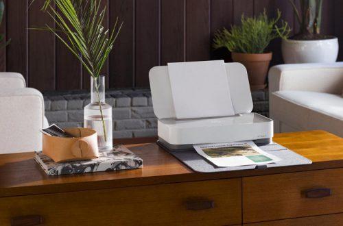 HP Tango — стильный струйный принтер, управлять которым можно голосом