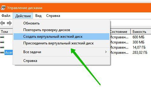 Создание и форматирование разделов жёсткого диска Windows 10