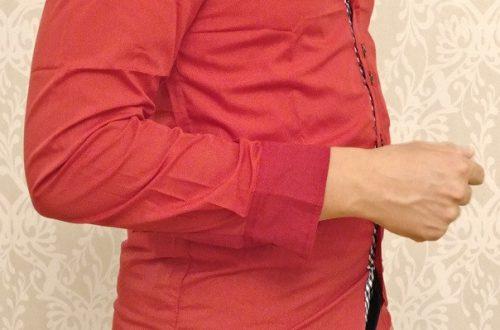 Рубашка из китайского магазина - за что боролись, на то и напоролись.