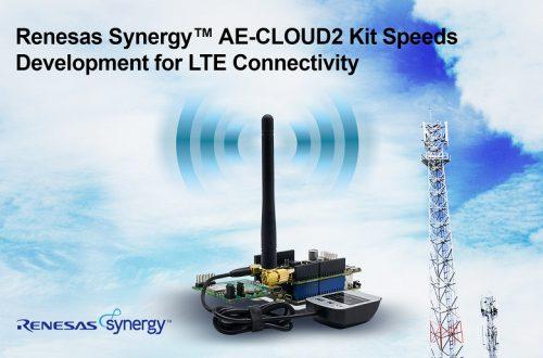 Комплект Renesas Synergy AE-CLOUD2 призван ускорить внедрение LTE в IoT