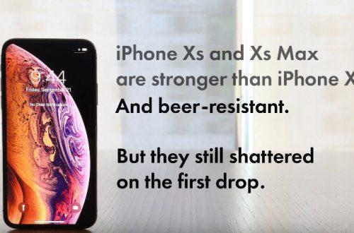 «Самые прочные» защитные стекла смартфонов iPhone XS и XS Max ломаются при первом же падении