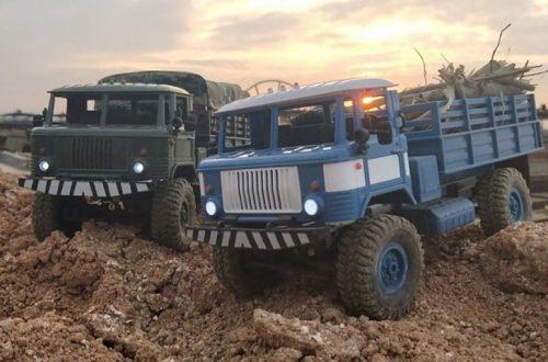 Набор для самостоятельной сборки р/у троффи модели ГАЗ-66 (WPL B-24 KIT)