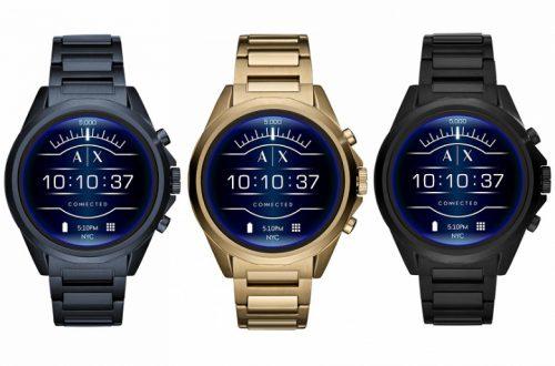 Armani Exchange Connected — очередные типичные «модные» умные часы с Wear OS