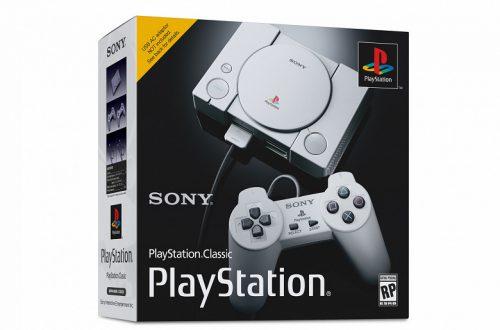 Представлена игровая консоль PlayStation Classic