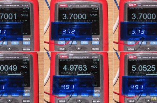 Маленькие вольтметры до 30-35 Вольт