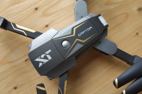 Attop X-Pack 8 - складной квадрокоптер с хорошей камерой