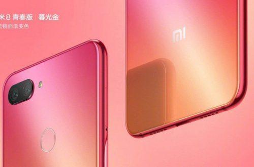 Смартфон Xiaomi Mi 8 Youth в трёх цветах показали на официальных рендерах и видео