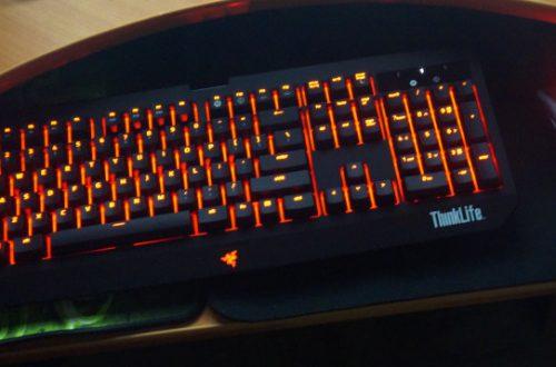 Механическая клавиатура Razer Blackwidow Ultimate красной версии версии Lenovo ThinkLife