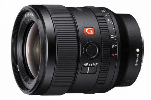 Представлен объектив Sony FE 24mm F1.4 GM (SEL24F14GM)