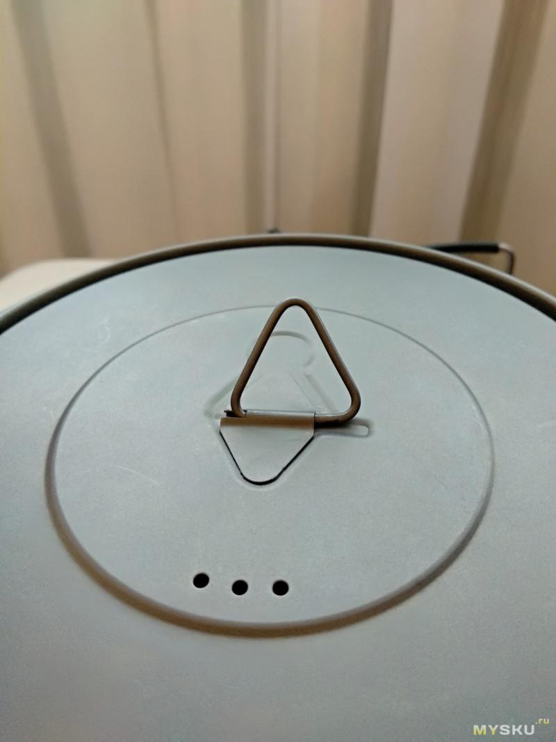 Титановый котелок TOAKS Titanium 1300ml Pot with Pan (POT-1300-BH )