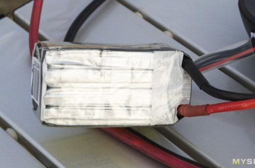 RC аккумулятор для FPV гонок – Gens Tattu R-Line 15.2V 1550mAh 100C 4S1P