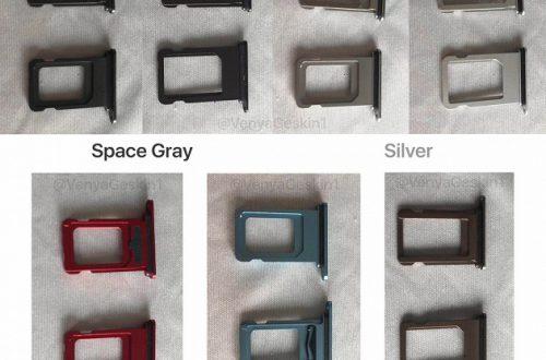 Новые фото показали пять цветов iPhone Xr