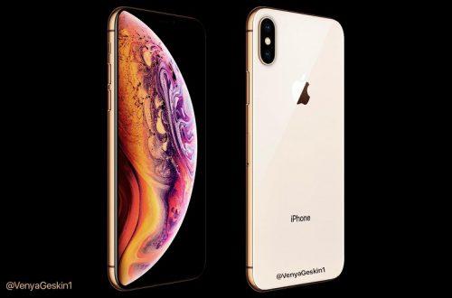 iPhone XS показался на качественном рендере