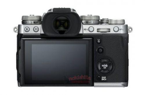 Опубликованы изображения беззеркальной камеры Fujifilm X-T3