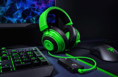 Гарнитура Razer Kraken Tournament Edition поддерживает технологию THX Spatial Audio