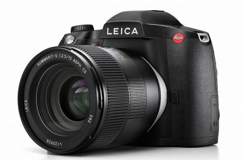 Среднеформатная камера Leica S3 замечена на сайте производителя