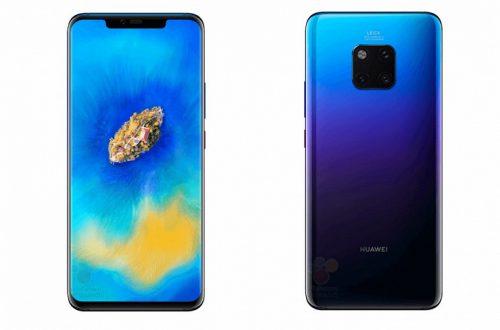 Флагманский смартфон Huawei Mate 20 Pro красуется на официальных изображениях