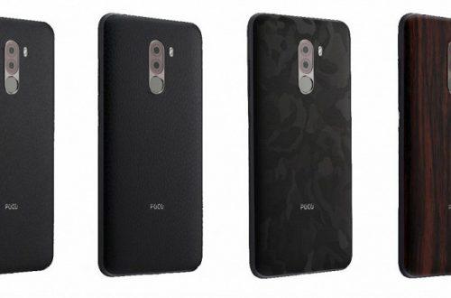 Xiaomi начинает продавать сменные панельки для Pocophone F1