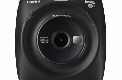 Цифровая камера с функцией печати Fujifilm Instax Square SQ20 позволяет снимать видео и печатать отдельные кадры