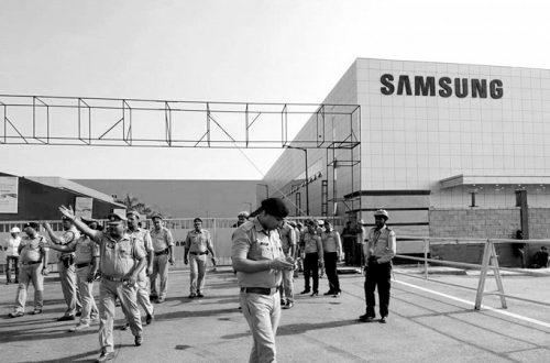 Из-за утечки углекислого газа на одном из заводов Samsung погиб человек