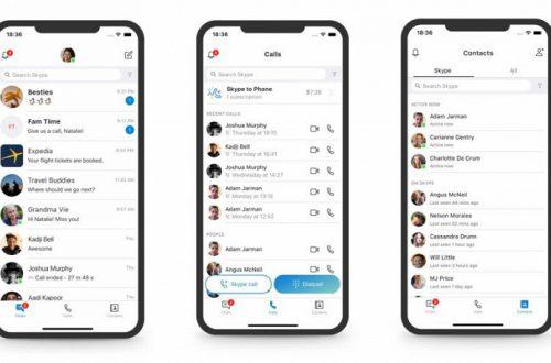 Microsoft признала новый дизайн Skype неудачным