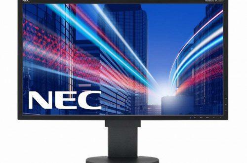 Анонсированы мониторы NEC MultiSync EA271Q и MultiSync P243W