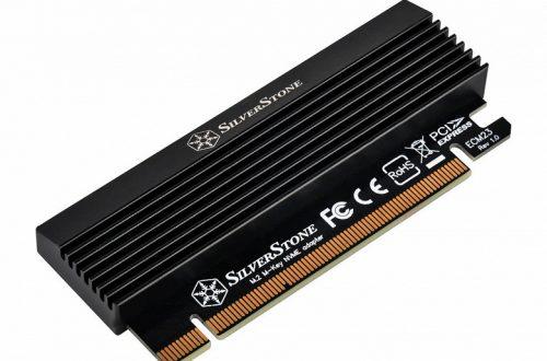 Переходник SilverStone ECM23 позволяет установить SSD M.2 в слот PCIe x16