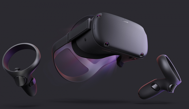 Представлен VR-шлем Oculus Quest: без проводов и с шестью степенями свободы
