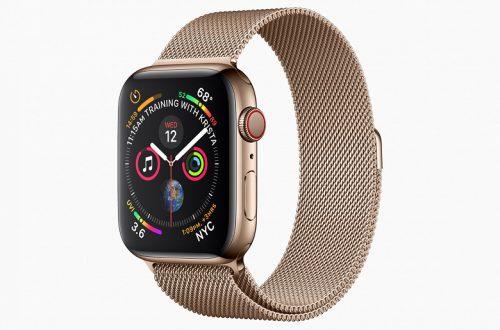 Умные часы Apple Watch Series 4 появились в предзаказе