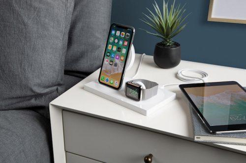 Belkin Boostup Wireless Charging Dock — беспроводная станция для одновременной зарядки смартфона и часов Apple