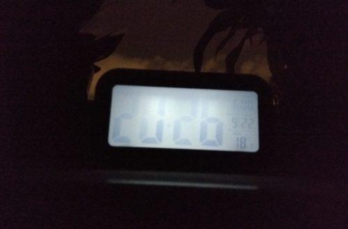 Довольно неплохие электронные настольные часы с крупными цифрами времени