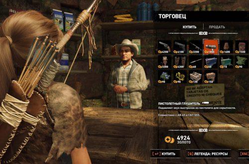 Базовое руководство по прохождению Shadow of the Tomb Raider