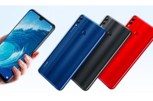 Huawei установила цель в 20 млн смартфонов Honor 8X