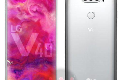 Опубликованы подробные характеристики смартфона LG V40: IP68, Snapdragon 845 и пять камер