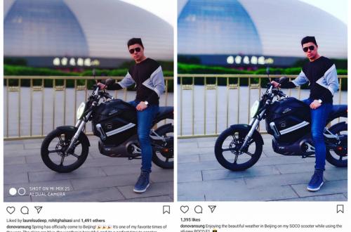 Пресс-секретарь Xiaomi использовал поддельный снимок камеры, рекламируя Pocophone F1