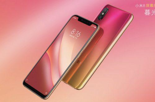 Представлен смартфон Xiaomi Mi 8 Screen Fingerprint Edition с подэкранным сканером отпечатков пальцев