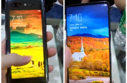 Оба дисплея смартфона ZTE Nubia Z18S показали на видео