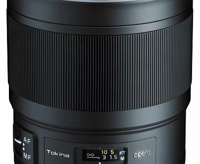Объектив Tokina opera 50mm F1.4 FF оценен в 949 долларов