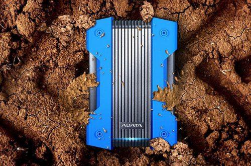 Внешний накопитель Adata HD830 выдерживает давление в 3 тонны