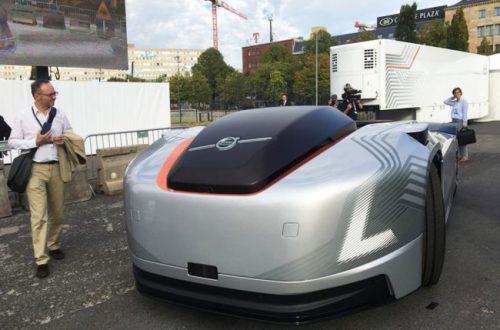 Volvo показала беспилотный электрогрузовик без кабины