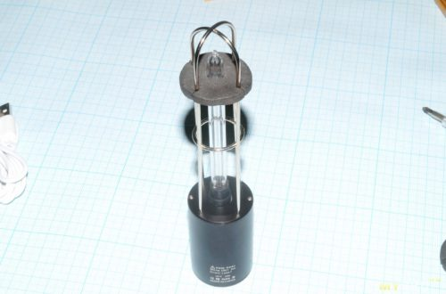Небольшой аккумуляторный УФ стерилизатор.