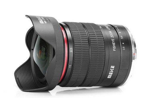 Объектив Meike MK-6-11mm F3.5 — «рыбий глаз» с изменяемым фокусным расстоянием для зеркальных камер Nikon и Canon