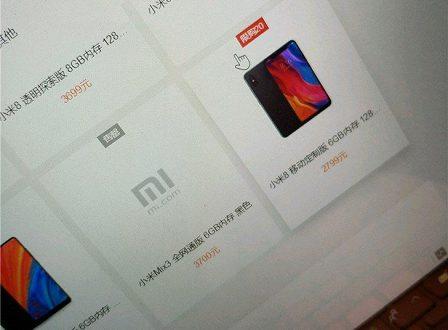 Утечка в официальном онлайн-магазине подтвердила цену на флагманский слайдер Xiaomi Mi Mix 3